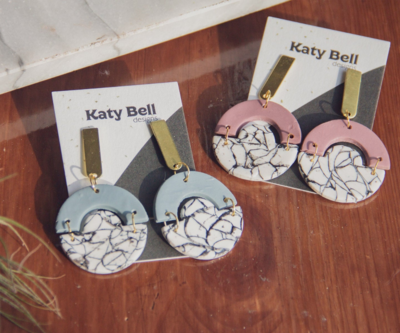 Katy Bell Designs Gianna Polymer Clay Earrings
