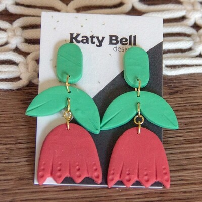 Katy Bell Designs Annika Polymer Clay Earrings