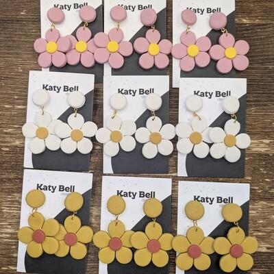 Katy Bell Designs Persephone Polymer Clay Earrings