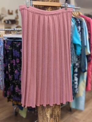 Pink Knit Skirt