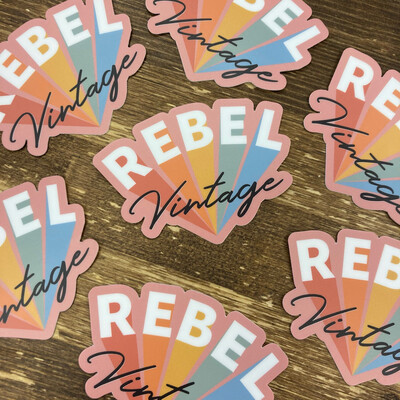 Rebel Vintage Sticker