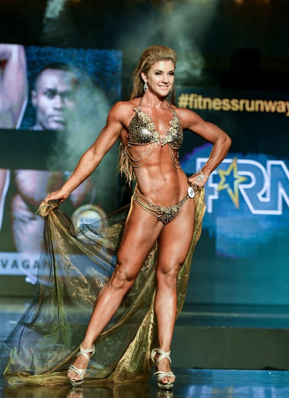 Female Fitness Bikini Model