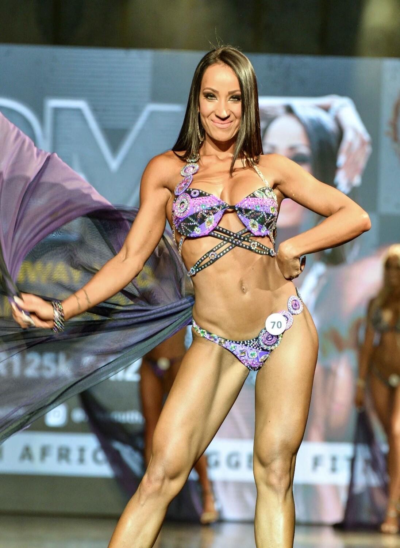 Female Bikini Model