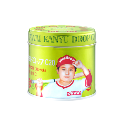 KAWAI肝油丸C20 (香橙風味)