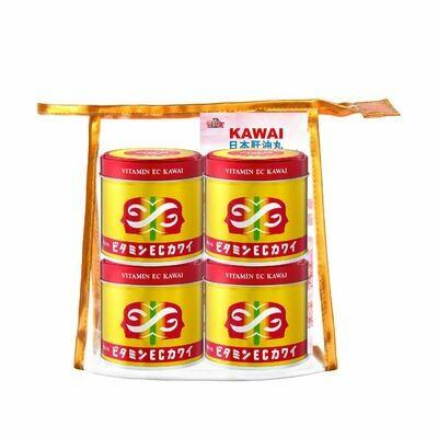 KAWAI EC美肌維他命四罐套裝