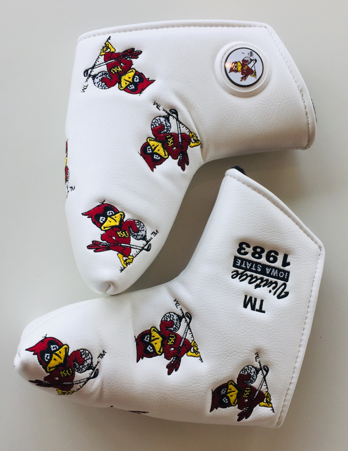 """""""Vintage Cy"""" Blade Putter Cover"""