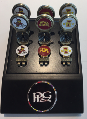 Iowa State Hat Clip with Ball Marker