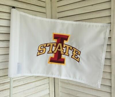I-State Pin Flag