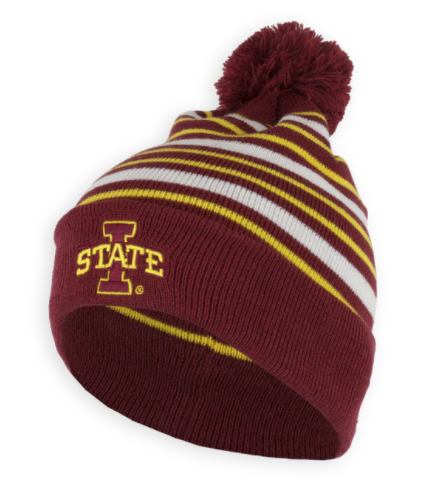 I-State Winter Knit Beanie