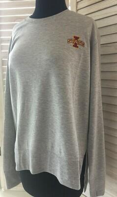 Women's Iowa State Sweater/Fleece Carbon Heather