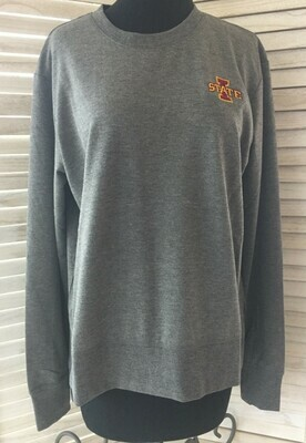Women's Iowa State Sweater/Fleece Charcoal