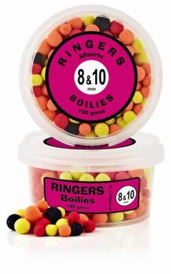 Ringers All Sorts Match Boilies 8mm & 10mm