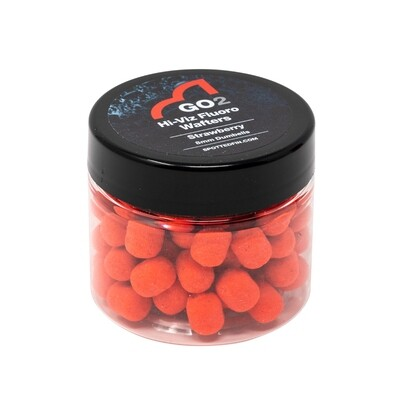 GO2 Strawberry Hi-Viz Wafter 8mm