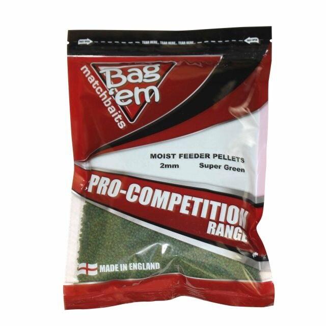 Bag'Em 2mm Moist Feeder Pellets