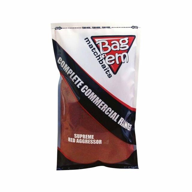Bag'em Supreme Red Aggressor Groundbait