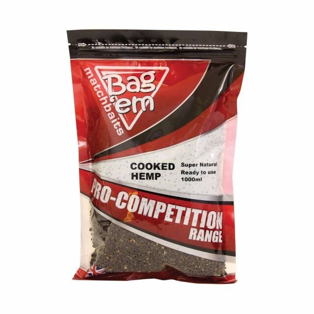 Bag'em Cooked Hemp 1000ml