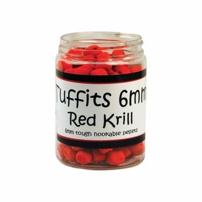 Bag'em Tuffits 6mm Red Krill Hookers 100ml