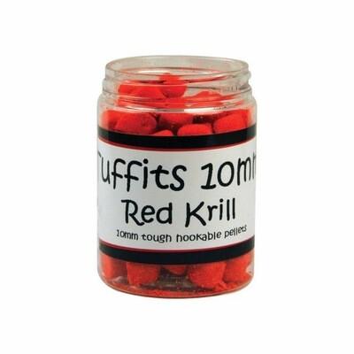 Bag'em Tuffits 10mm Red Krill Hookers 100ml