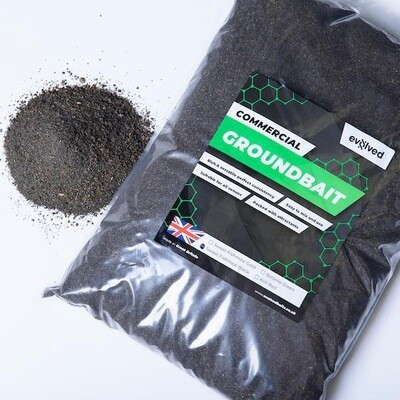 Evolved Baits Sweet Fishmeal Black Groundbait