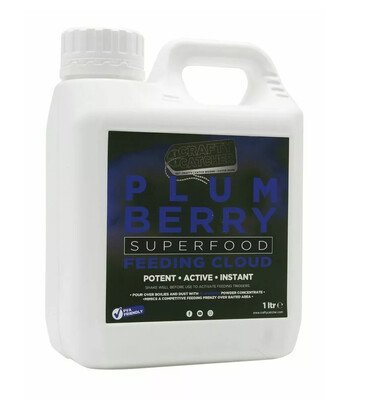 Crafty Catcher Superfood PLUMBERRY Feeding Cloud 1LTR
