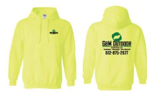 Safety Yellow Logo Sweatshirt