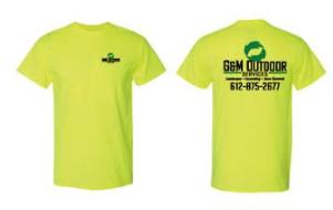 Safety Yellow Logo T-Shirt
