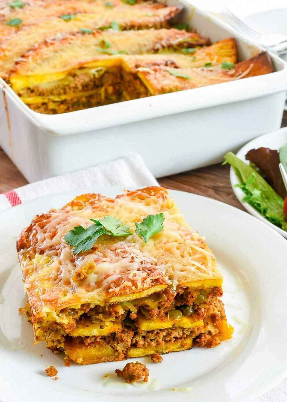 Plantain Lasagna (1 portion)