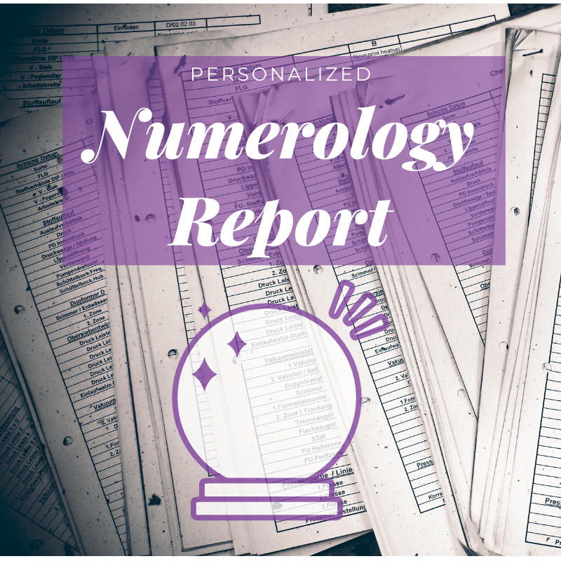 Basic Numerology Reading