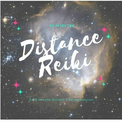 Reiki Distance Session - 30 Minutes