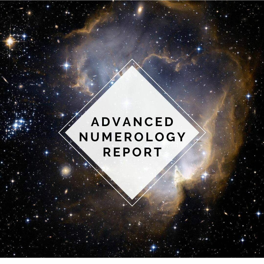 Advanced Numerology Report