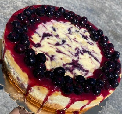 Blueberry Fusion Cheesecake