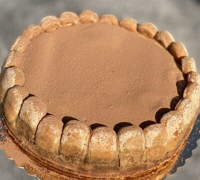 Espresso Tiramisu Cheesecake