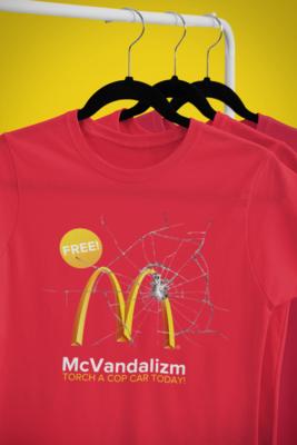 McVandalism Tee