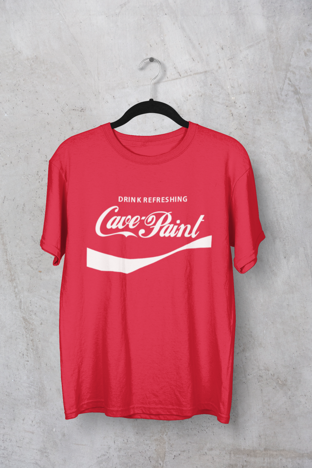 "Cave Paint ""Refreshing"" Tee"