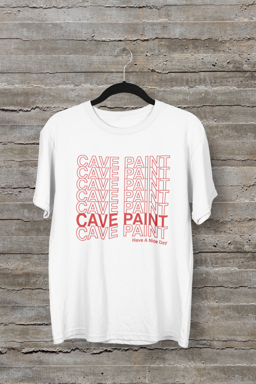 "Cave Paint ""Nice Day"" Tee"