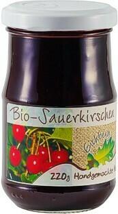 Sauerkirschen-Fruchtaufstrich BIO 220g