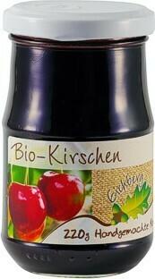 Kirschen-Fruchtaufstrich BIO 220g
