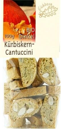 Dinkel-Cantuccini Kürbis 100g BIO