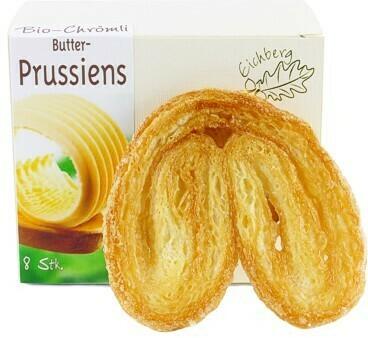 Butter-Prussiens BIO 8 Stk. / 120g