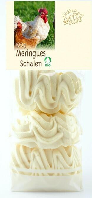 Meringues-Schalen BIO Knospe 6 Stk. / 100g
