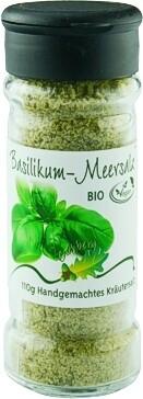 Basilikum-Meersalz 110g BIO