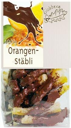 Orangenstäbli 100g