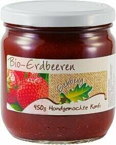 Erdbeer-Fruchtaufstrich 450g BIO