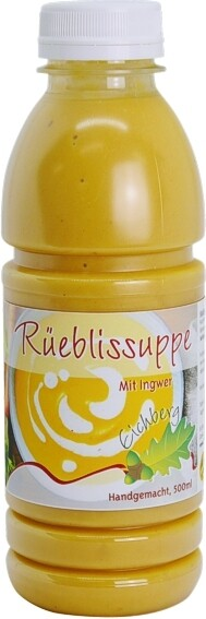 Rüeblisuppe mit Ingwer 500ml / 2 Portionen