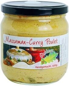 Massaman Thai-Curry mit Poulet 400g / 2 Portionen
