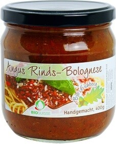 Angus Rinds-Bolognese BIO 400g / 2 Portionen