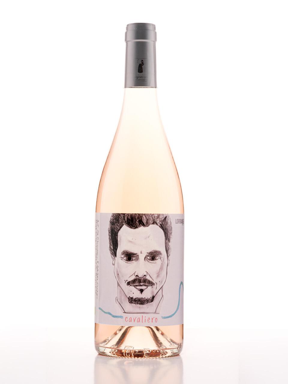 0,75l, Rosé, Cuvée Cavaliero, Lorraine édition, Mas de Cynanque, AOP St-chinain 2019 BIO