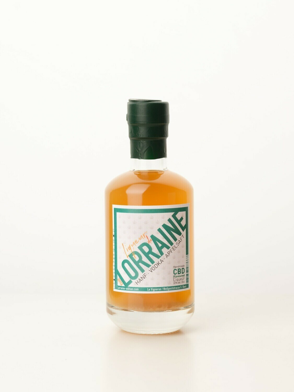 LIQUEUR DE LORRAINE, CBD Flavoured Likör, 200 ML, 22%VOL.