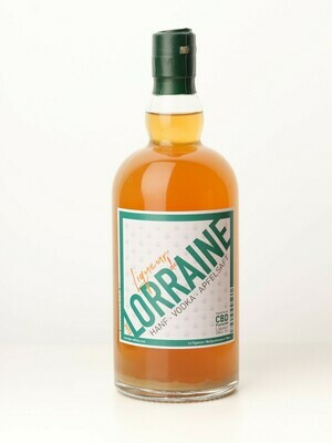 LIQUEUR DE LORRAINE, CBD Flavoured Likör, 70CL, 22%VOL.