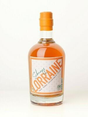 SCHNAPS DE LORRAINE, CBD Flavoured Spirituose 0,5L ; 40%VOL.